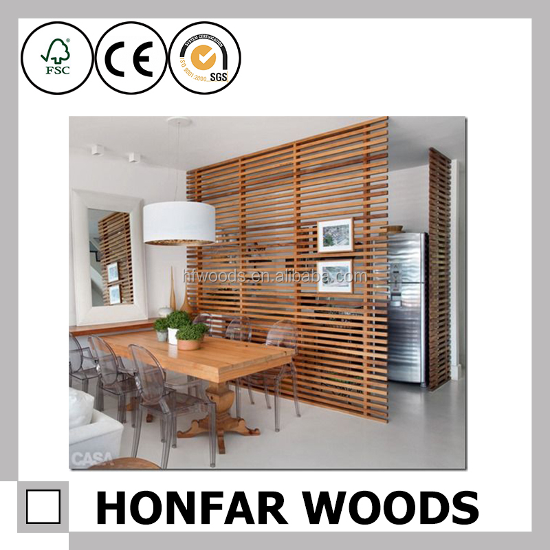 Wood Divider Room Divider for Home Decoration Hotel Decoration