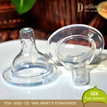 Infant Teat Bottle Nipple for Baby Silicone Disposable Child Nipple