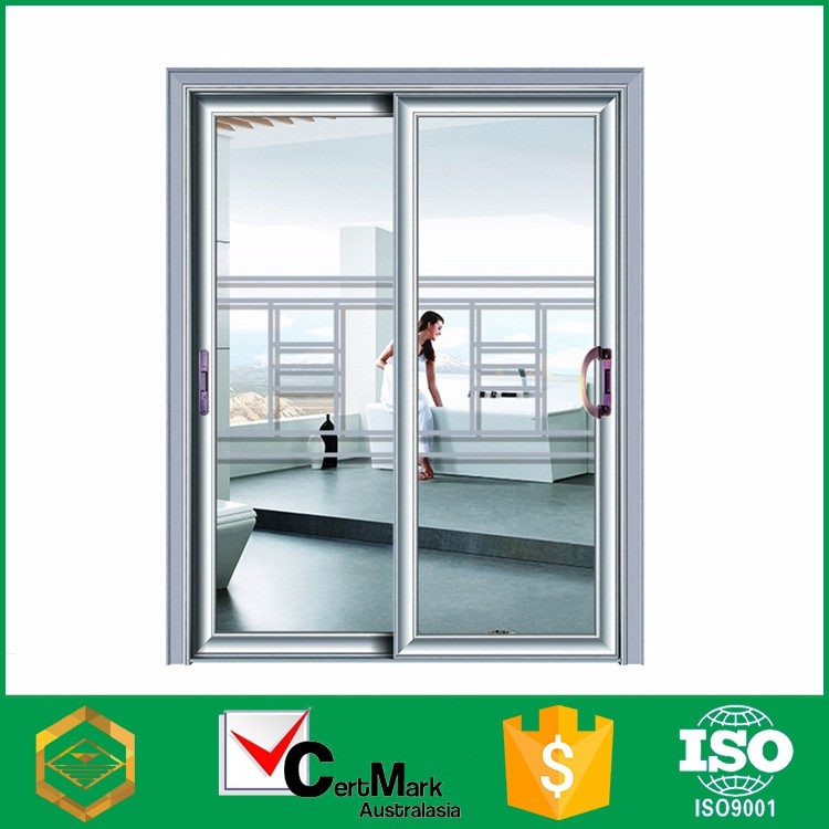 Aluminum Frame 3 Panel Japanese Slide Closet Door Manufacture