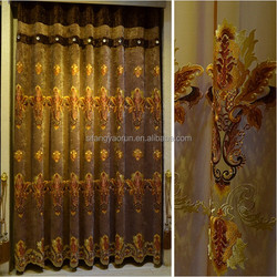modern curtains half curtains luxury chinese curtain