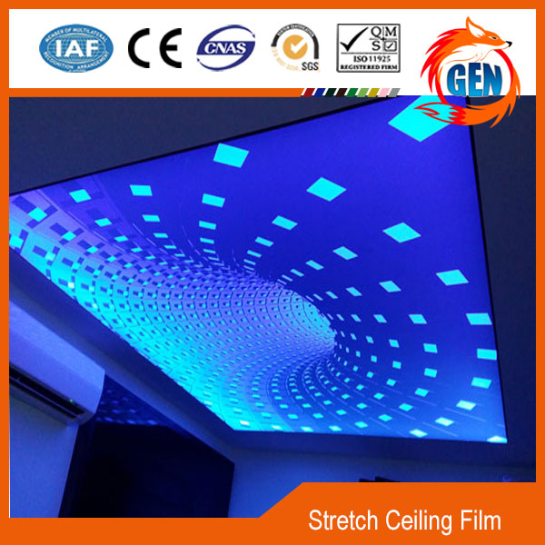 Best decoration materials uv printed false pvc ceiling designs for bedroom