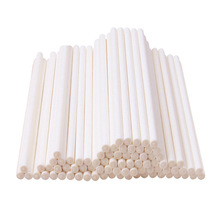 Diverse Maten Gekleurde papier lollipop sticks