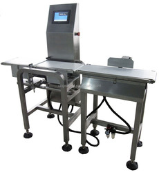 online weight check machine for food after packaging machine