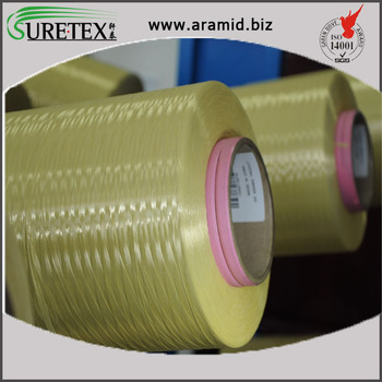 100% Para Aramid Kevlar Filament Yarn 1000 Denier