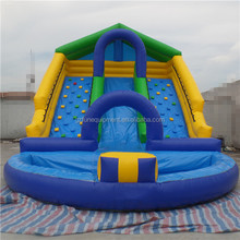 cheap inflatable water pool tile used swimming pool slide for kids