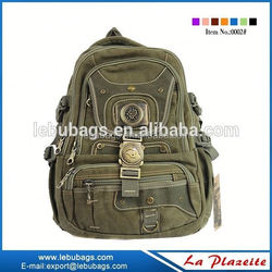 American Army canvas custom backpack, tactical military backpack