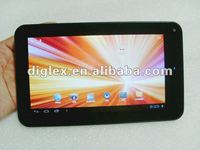 "7"" Android 4.0 tablet pc 1.2GHz 512MB 4GB Capacitive 5-point VIA8850"