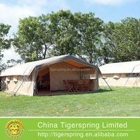 luxury resort tent with three rooms