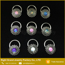 Designer Pictures Of Nipple Piercing Opal Tribal Slave Nipple Ring Nipple Cones Body Jewelry