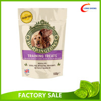 stand up doypack laminate pet food packaging plastic bag