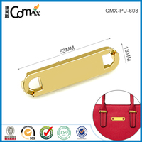 China supplier handbag garment metal labels