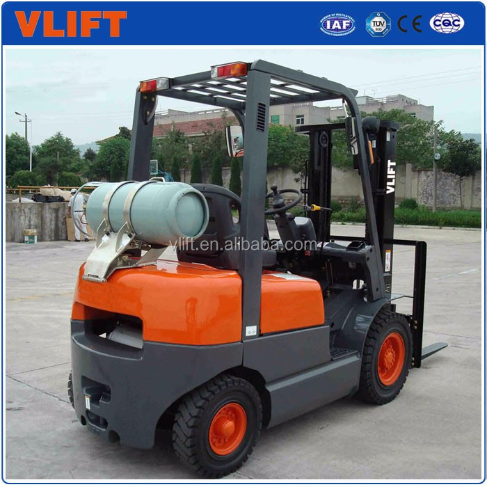 1.8 Ton LPG Gasoline Forklift Truck with Good Price for Sale