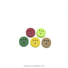 High quality resin button imitation corozo button T-hole button 18L