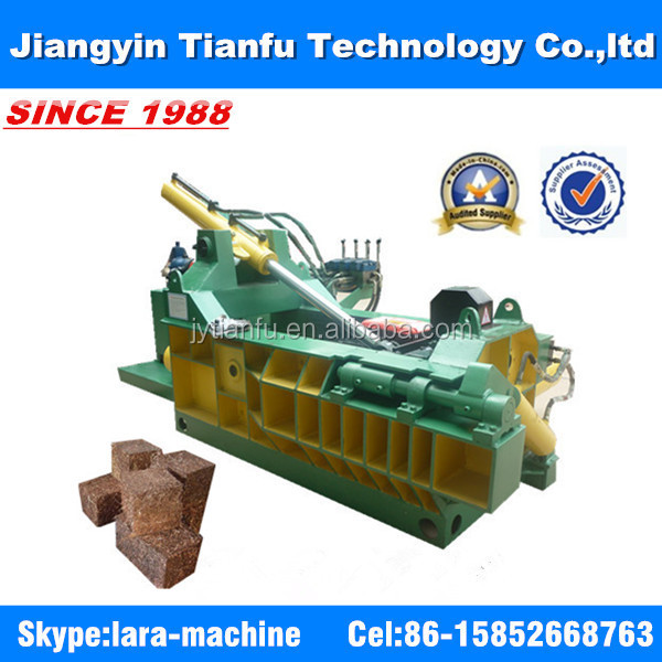 Y81F-1250 Hand valve easy operation hydraulic small baler baling press for scrap metal