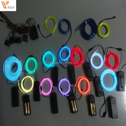 "Polar light 3"" EL WIRE / High luminance EL WIRE / Electroluminescent wire"