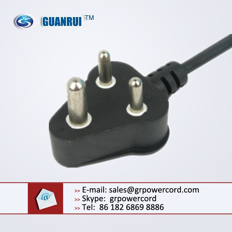 south africa power cord,sa power cord