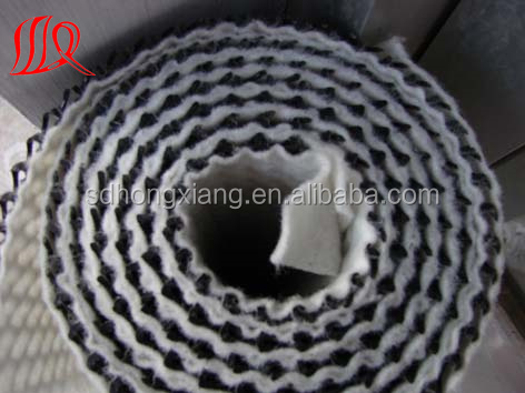 10mm/1.0mm drainage net/ drainage geonet coated with non woven geotextile