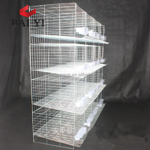 Latest Design Fancy Galvanized Pigeon Farming Cage With High Quality