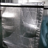 Thermal aluminum foil pallet cover keeping warm or cold material