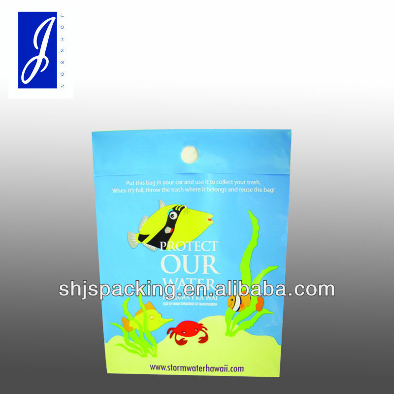 LDPE plastic air sickness bag airstickness bag