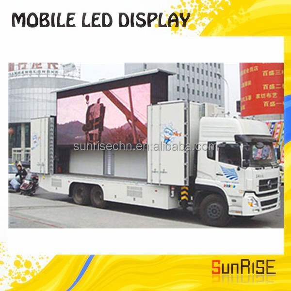 Mobile Advertising Truck/truck Led Display Jac 4x2 Outdoor Mobile Advertising Truck