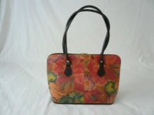 Leather handbag, bag, holder, etc