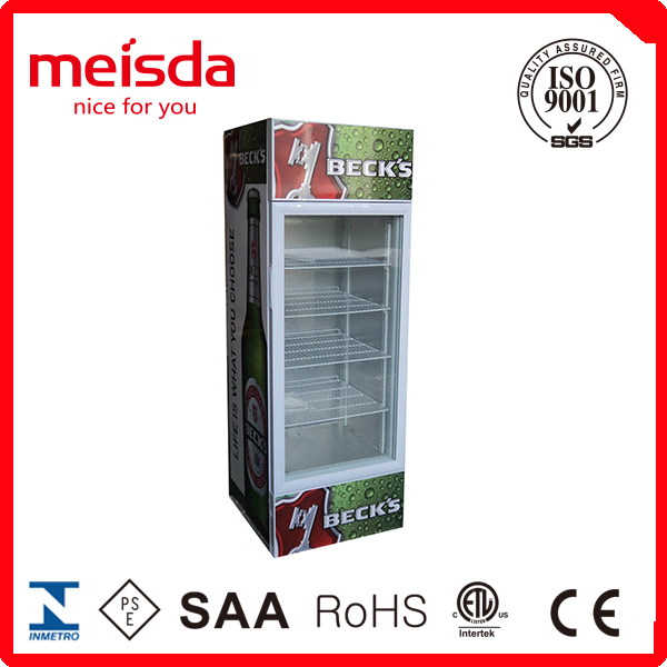Refrigerated Show case, Upright Showcase Display, Cooler Display Cabinet,