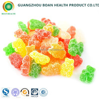 Multivitamin gummy bear candy starch jelly sweets