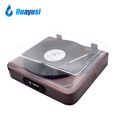 vintage usb recording radio bluetooth vinyl turntable platter lp to mp3 converter