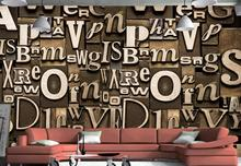 Cafe use pvc wallpaper construction building bollywood wallpaper saudi arabia stereoscopic wallpaper 3d letter made in china