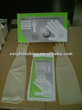 Latex Gynecological / Obstetric Gloves