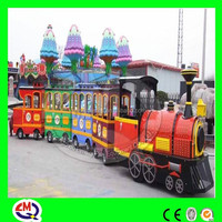 High quality!!! attractive amusement electric trackless train for sale
