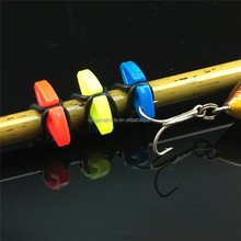 Plastic Fishing Rod Easy Hook Keeper Hanging Bait Lure Hook Holder Artificial Accessories Fishing Tackle