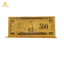24k gold foil us banknote plated gold foil 100 dollar bill