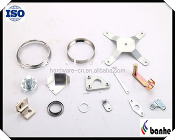 OEM stamped parts with different surface treating high quality manufacturer