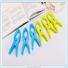 Newest Colorful Multipurpose plastic large clothes pegs and clips