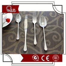 LOW MOQ High quality stainless steel party tableware set / restaurant spoon fork knife set / canteen cutlery