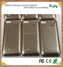 Battery charger for phone case battery case for iphone5S/5C FCC,CE, Rohs power bank with detachable