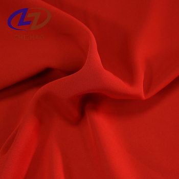 Chinese Supplier 95 polyester 5 spandex blend bag fabric with woven
