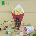 Disposable oil-proof potato chip packing box