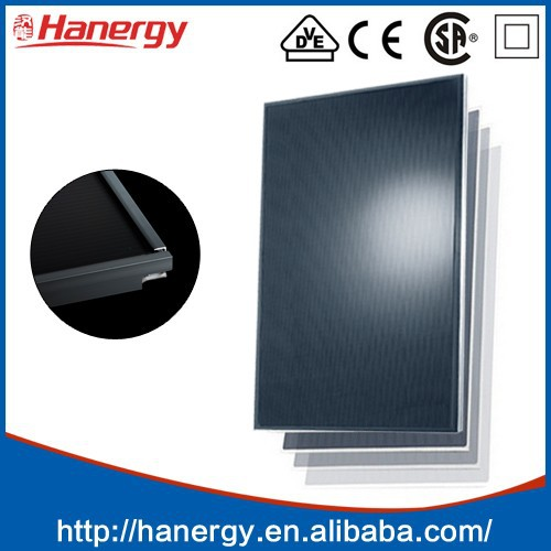 Hanergy 125w cigs thin film solar cell chip photovoltaic solar panels with lowest price used for ongrid and offgrid solar system