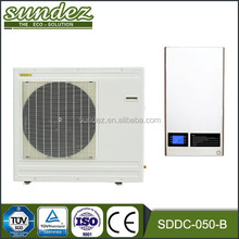 Air water heat pump inverter air conditioning unit 3 in one multifunction 5KW to 20KW