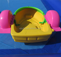 leisure child swan paddle boat for water game