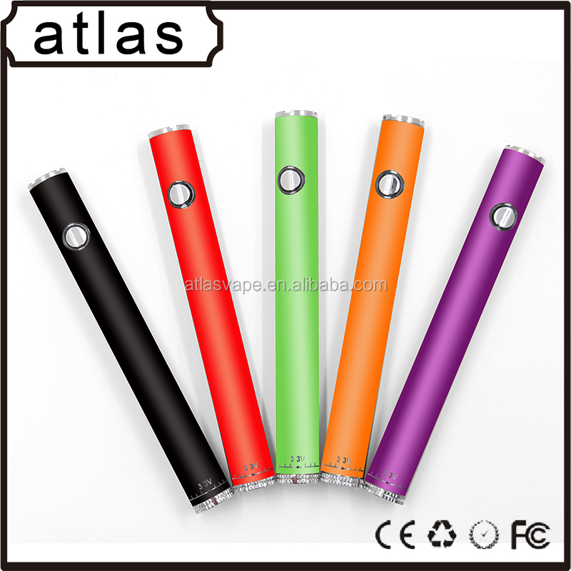 510 Vaporizer Pen E Cigarette 310mAh 510 Thread Button Battery Variable Voltage Vape Pen Slim battery wholesale