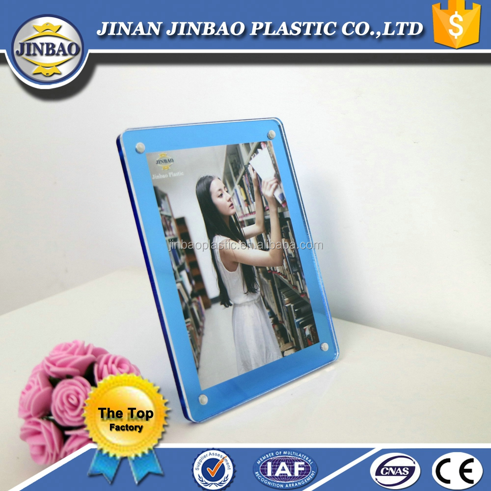 Jinbao acrylic perspex multi photo collage picture frame