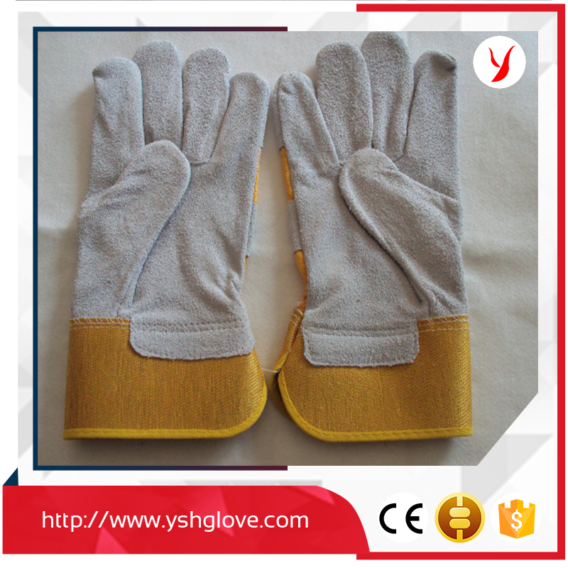 China Famous Brand Long Leather Work Welding Gloves