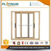 wood sliding patio door