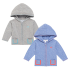 High Quality Spring Infant and Toddler Boys Hooded Kids Gilet Cotton Knitted Cardigan with Pocket