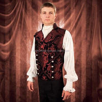 ME101509 double-breasted front Dorian Vest