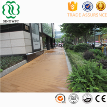 Outdoor waterproof rubber flooring synthetic teak decking boat